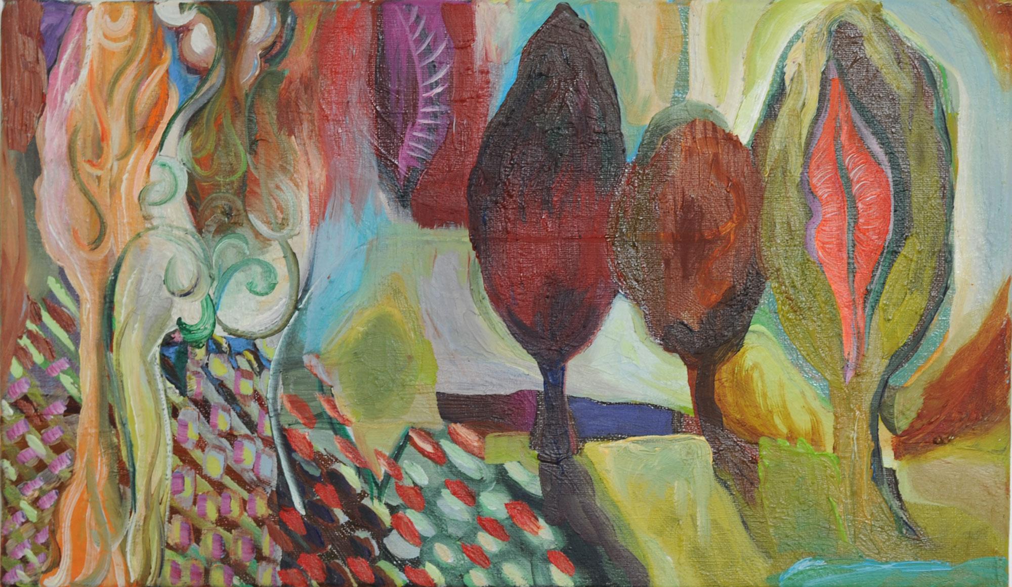 Barbara Thaden peintures 2021